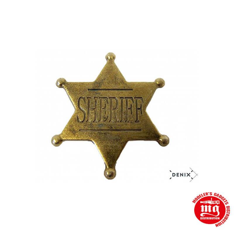 PLACA DE SHERIFF DENIX