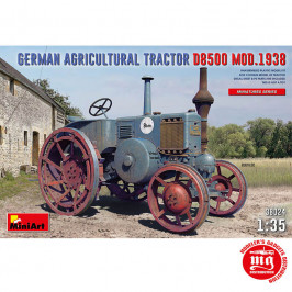 GERMAN AGRICULTURAL TRACTOR D8500 MODEL 1938 MINIART 38024