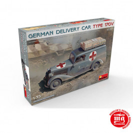 GERMAN DELIVERY CAR TYPE 170V MINIART 35297
