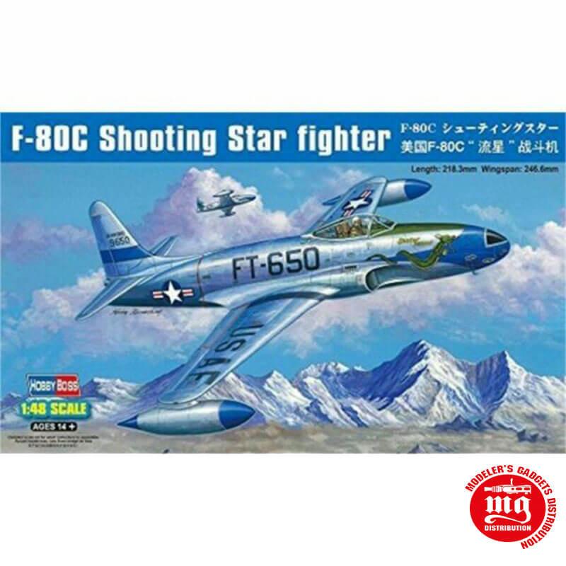 LOCKHEED F-80C SHOOTING STAR FIGHTER HOBBYBOSS 81725