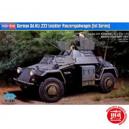 GERMAN Sd.Kfz.222 LEICHTER PANZERSPAHWAGEN 1st SERIES HOBBYBOSS 83815