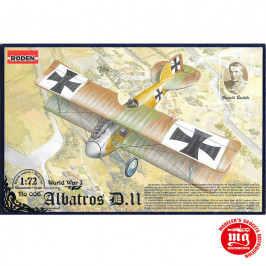 ALBATROS D.II WORLD WAR I RODEN 006