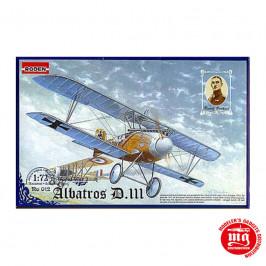 ALBATROS D.III WORLD WAR I RUDOLF BERTHOLD RODEN 012