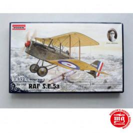 RAF S.E.5a WITH HISPANO SUIZA JAMES McCUDDEN RODEN 023