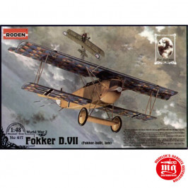 FOKKER D.VII FOKKER BUILT LATE WORLD WAR I RODEN 417