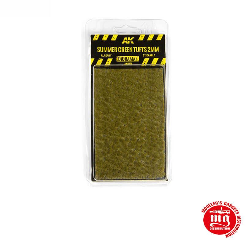 SUMMER GREEN TUFTS 2MM AK8124