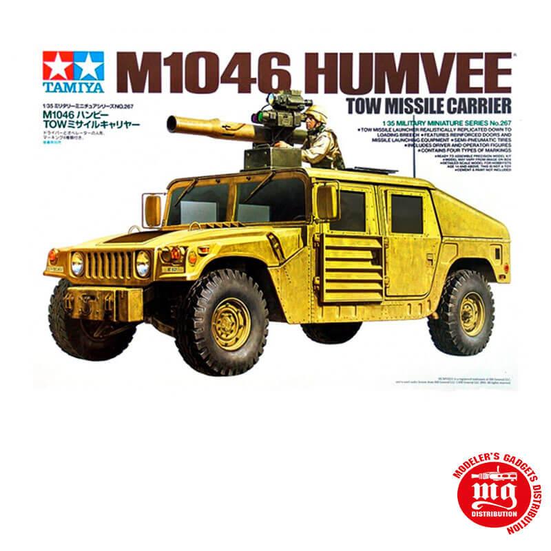 M1046 HUMVEE TOW MISSILE CARRIER TAMIYA 35267