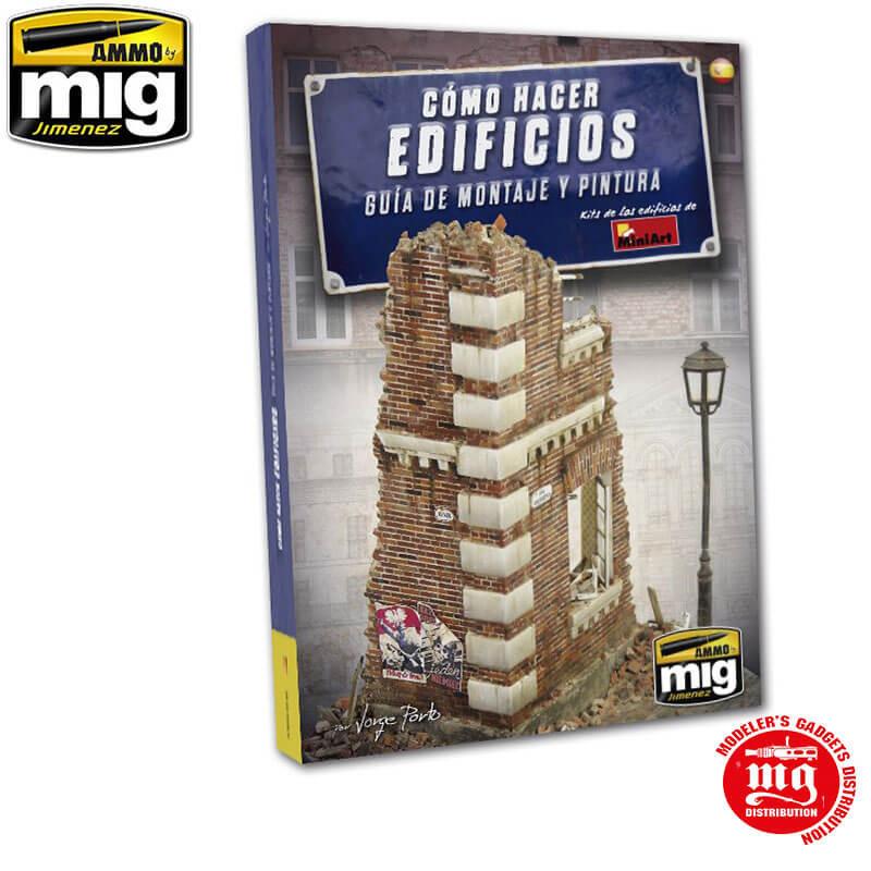 COMO HACER EDIFICIOS GUIA DE MONTAJE Y PINTURA EN CASTELLANO AMMO A.MIG-6136