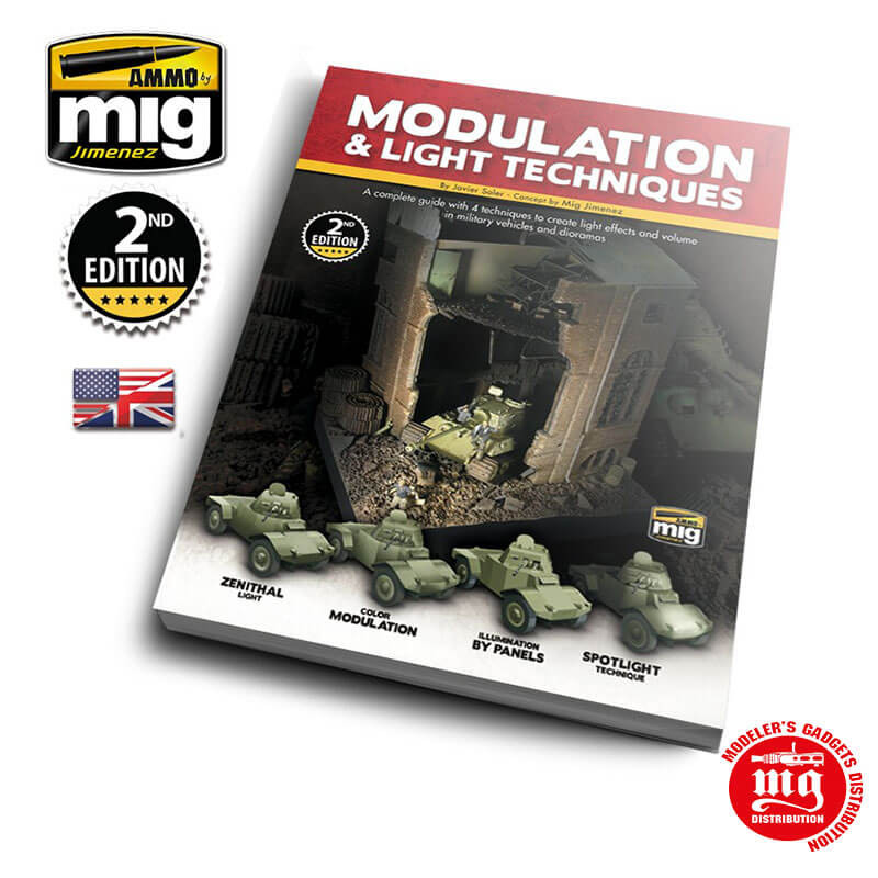 MODULATION AND LIGHT TECHNIQUES ENGLISH VERSION AMMO A.MIG 6005
