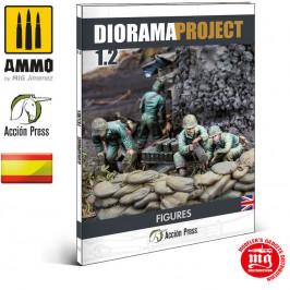 DIORAMA PROJECT 1.2 FIGURAS DE LA SEGUNDA GUERRA MUNDIAL EN ESPAÑOL ACCION PRESS BY MIG JIMENEZ