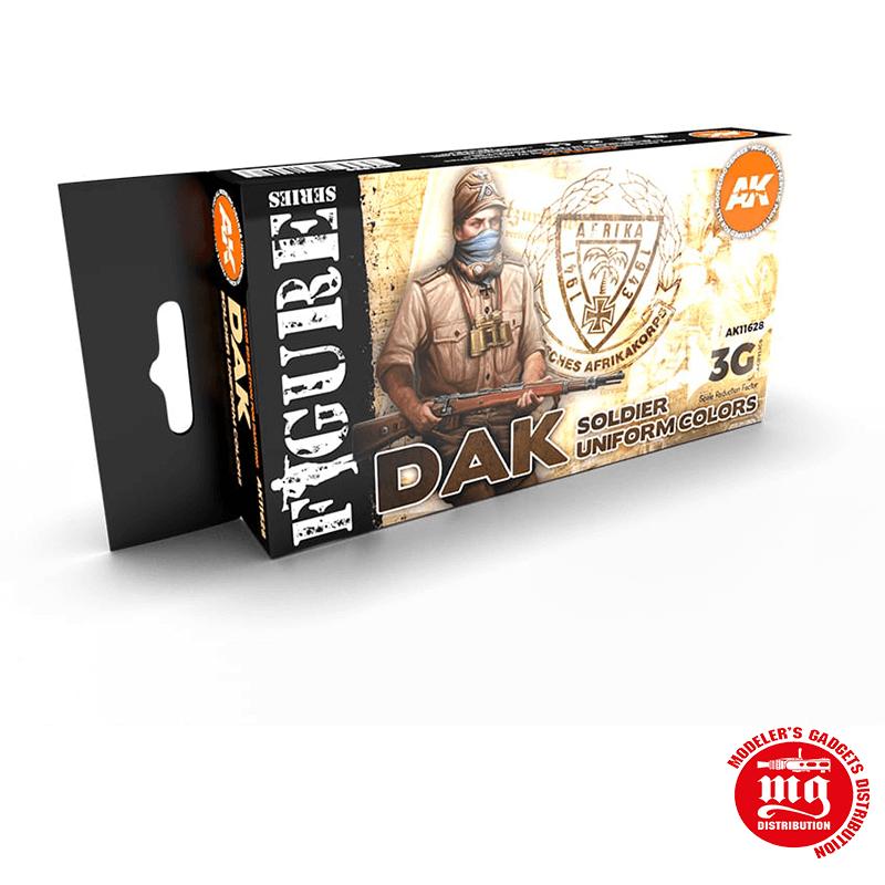 DAK SOLDIER UNIFORM COLORS 3G AK11628