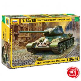 TANQUE MEDIO SOVIETICO T34/85 MODELO 1944 ZVEZDA 3687