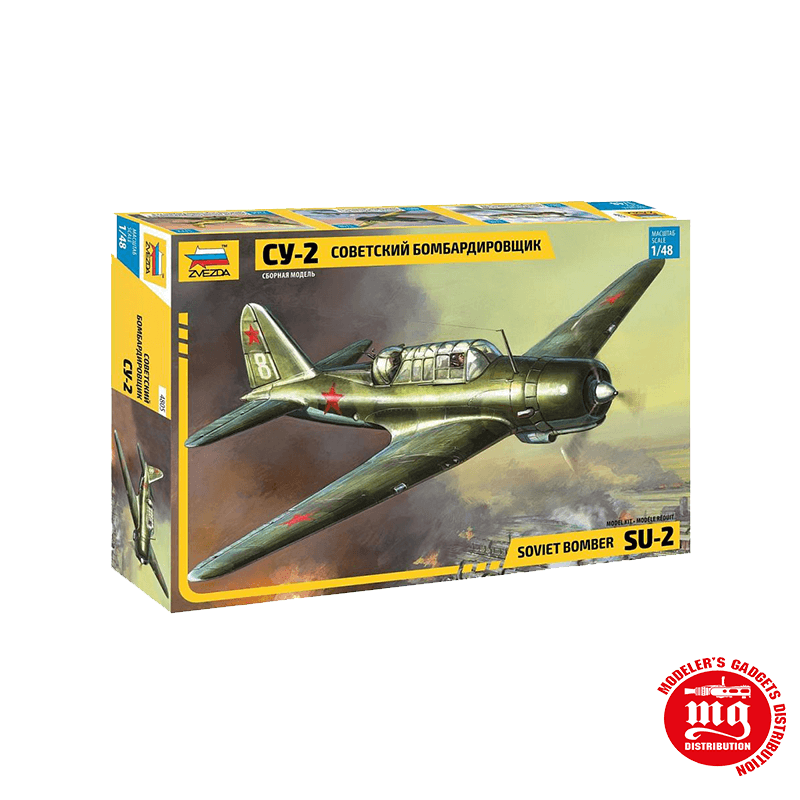 BOMBARDERO SOVIETICO SU-2 ZVEZDA 4805