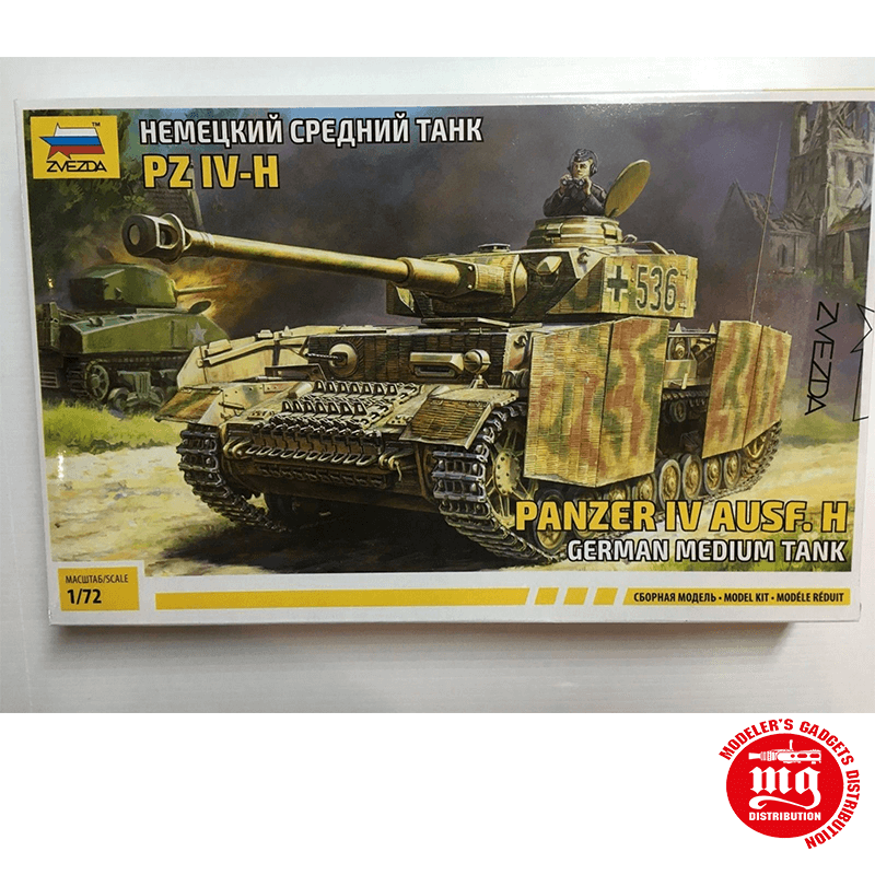 Pz.Kpfw.IV Ausf.H TANQUE MEDIO ALEMAN ZVEZDA 5017