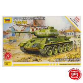 T-34/85 TANQUE MEDIO SOVIETICO ZVEZDA 5039