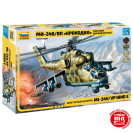 HELICOPTERO DE ATAQUE SOVIETICO Mil Mi-24V/VP HIND E ZVEZDA 7293