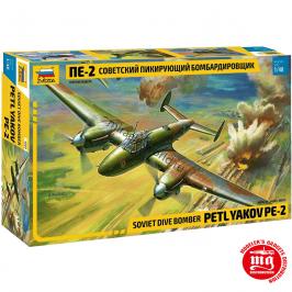 BOMBARDERO SOVIETICO PETLYAKOV PE-2 ZVEZDA 4809