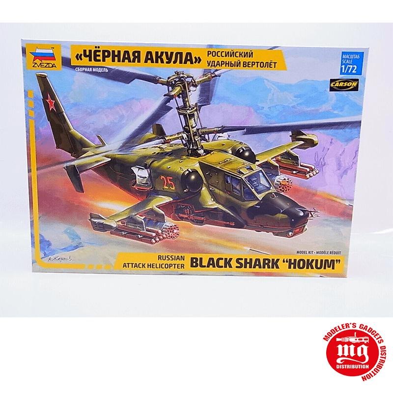 HELICOPTERO DE ATAQUE RUSO BLACK SHARK HOKUM ZVEZDA 7216