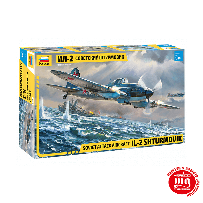 IL-2 SHTURMOVIK ZVEZDA 4825