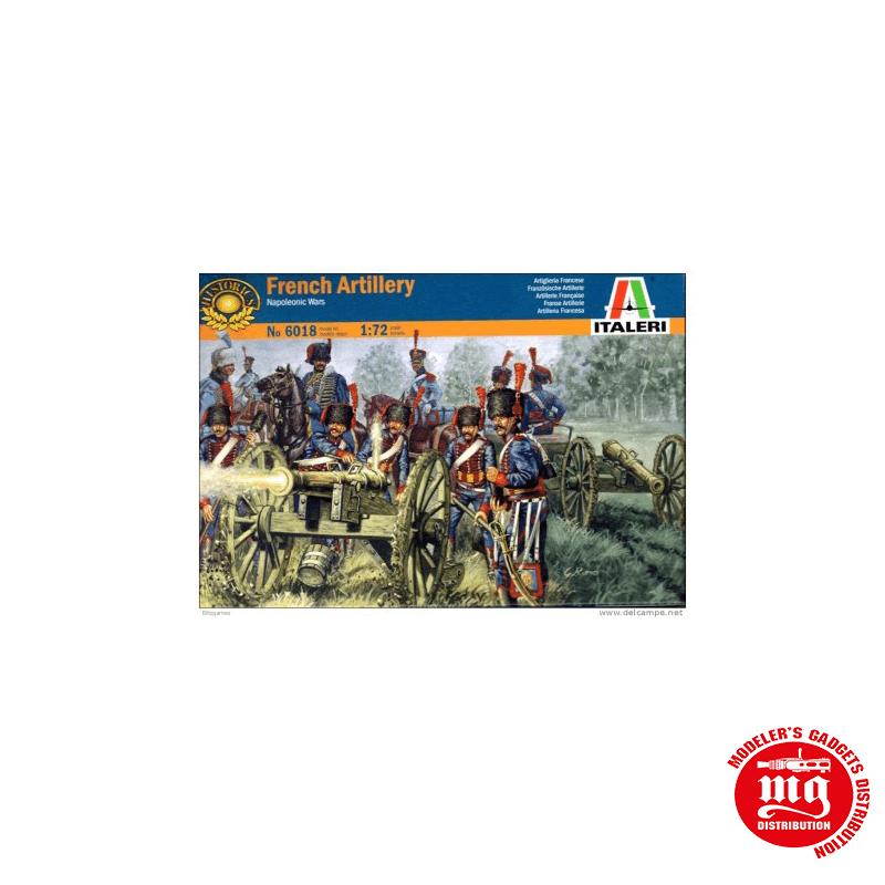 ARTILLERIA FRANCESA GUERRAS NAPOLEONICAS ITALERI 6018