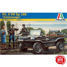 Kfz.II VW TYP 166 SCHWIMMWAGEN ITALERI 313