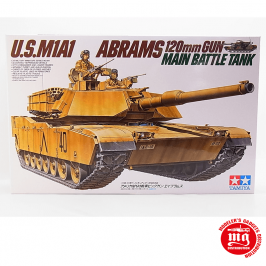 U.S. M1A1 ABRAMS 120mm GUN MAIN BATTLE TANK TAMIYA 35156