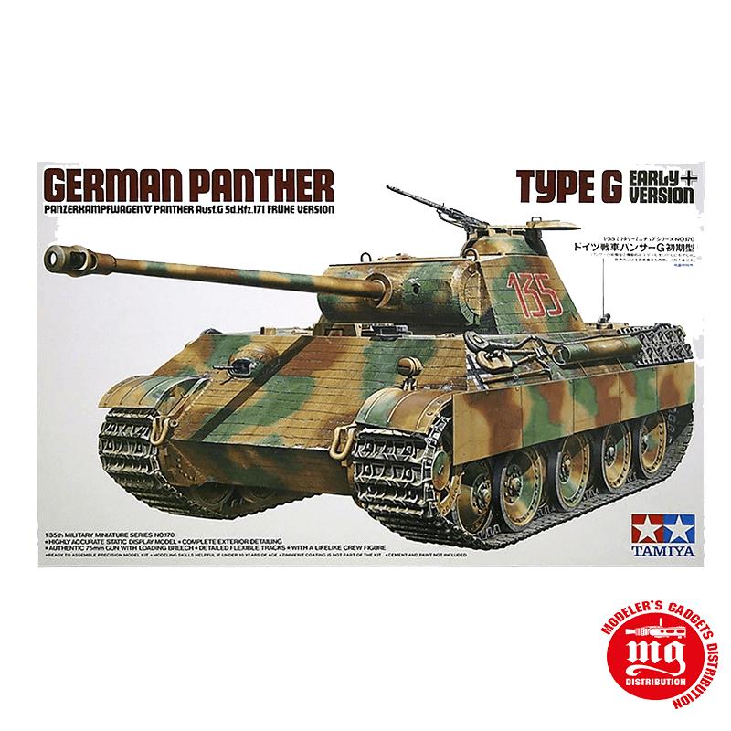 GERMAN PANTHER TYPE G EARLY VERSION TAMIYA 35170