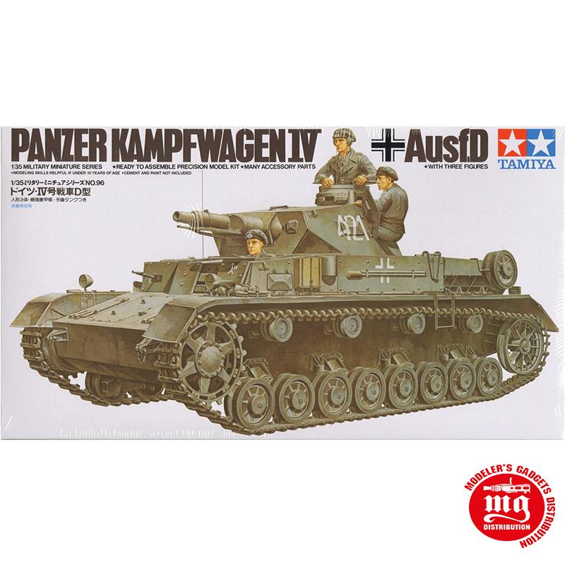PANZER KAMPFWAGEN IV Ausf.D TAMIYA 35096