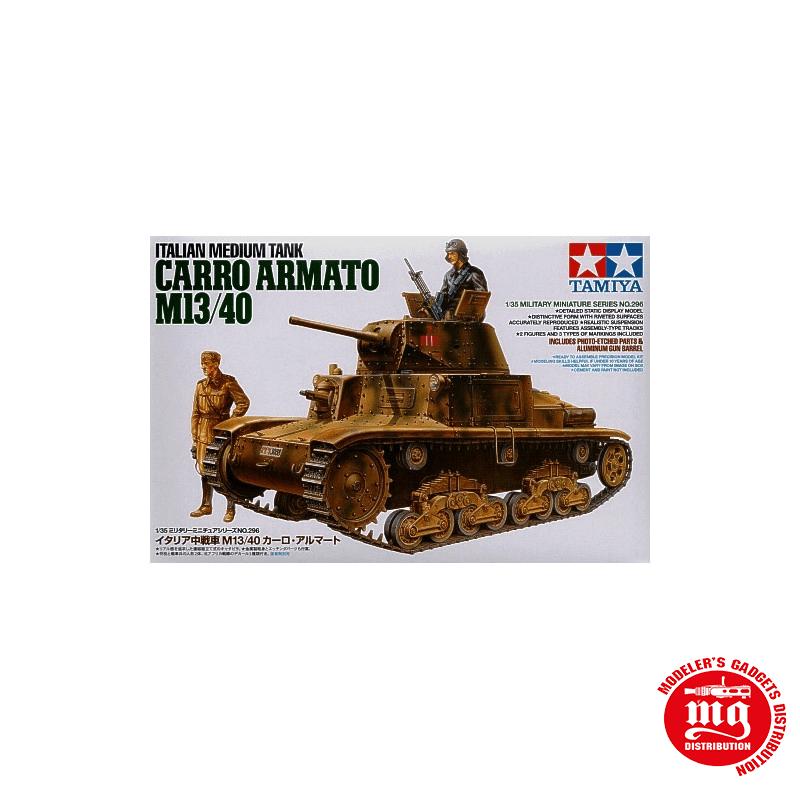 M13/40 CARRO ARMATO TANQUE MEDIO ITALIANO TAMIYA 35296