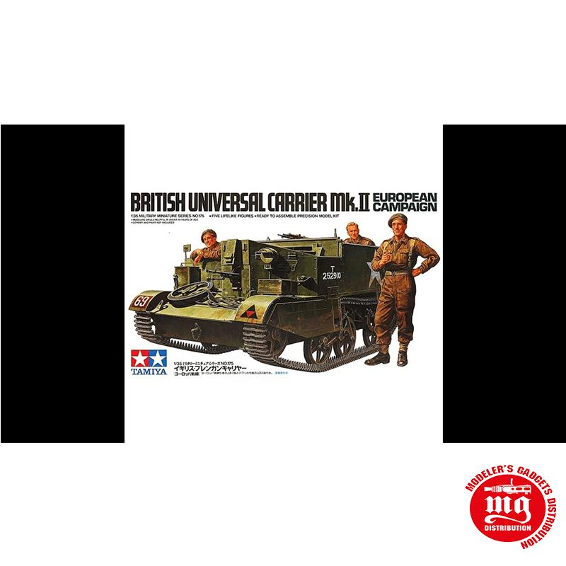 BRITISH UNIVERSAL CARRIER Mk.II EUROPEAN CAMPAIGN TAMIYA 35175