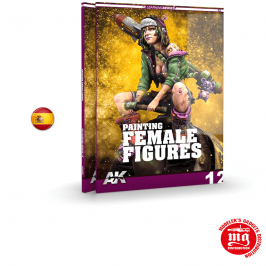 PINTURA DE LA FIGURA FEMENINA AK LEARNING SERIES 12 AK521