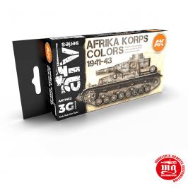 AFRIKA KORPS COLORS 1941-1943 AK11652