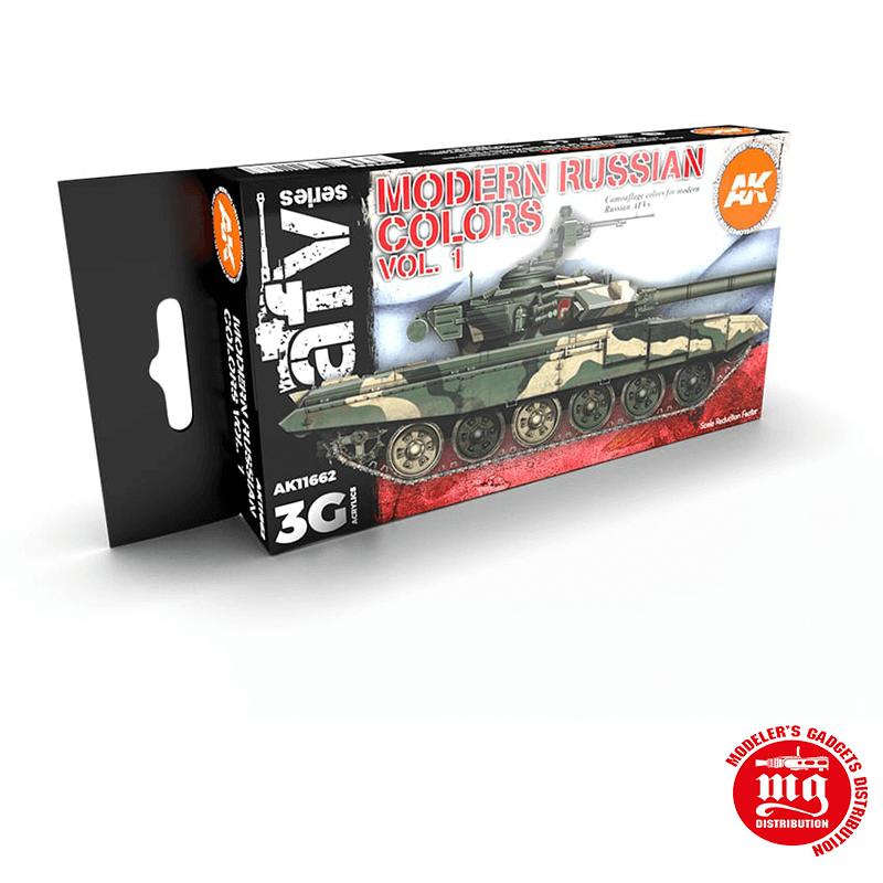 MODERN RUSSIAN COLORS VOLUMEN I AK11662