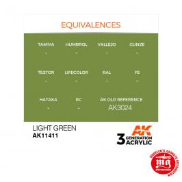 LIGHT GREEN AK11411