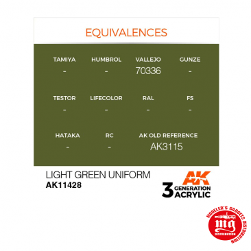 LIGHT GREEN UNIFORM AK11428
