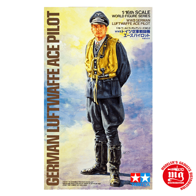 GERMAN LUFTWAFFE ACE PILOT TAMIYA 36302