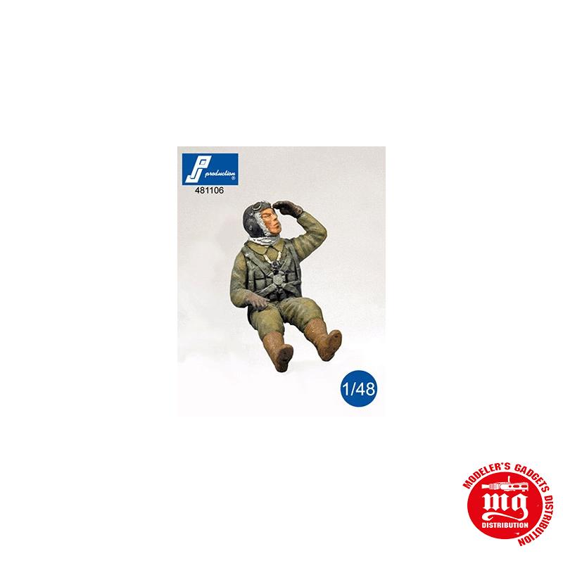 PILOTO JAPONES DE LA SEGUNDA GUERRA MUNDIAL SENTADO PJ PRODUCTIONS 481106
