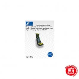 CONJUNTO DE DOS ASIENTOS EYECTABLES MARTIN BAKER Mk10 PJ PRODUCTIONS 721210