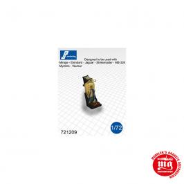 CONJUNTO DE DOS ASIENTOS EYECTABLES MARTIN BAKER Mk4 PJ PRODUCTIONS 721209