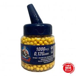 SPITFIRE 0.12 GRAMOS BOTELLA DE 1000 BOLAS SPF0007