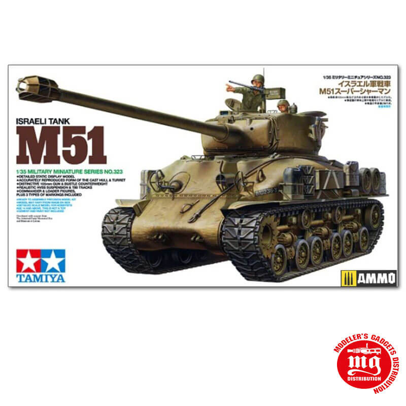 ISRAELI TANK M51 TAMIYA 35323