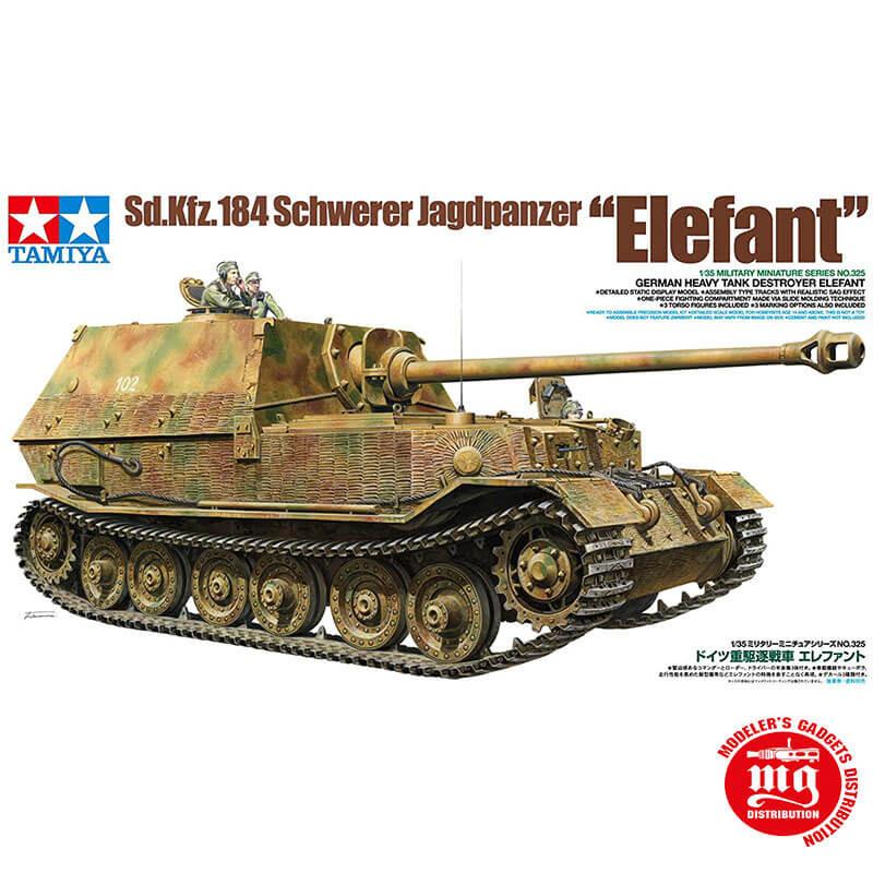 Sd.Kfz.184 SCHWERER JAGDPANZER ELEFANT TAMIYA 35325
