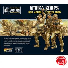 AFRIKA KORPS BOLT ACTION STARTER SET ARMY WARLORD GAMES 402612001
