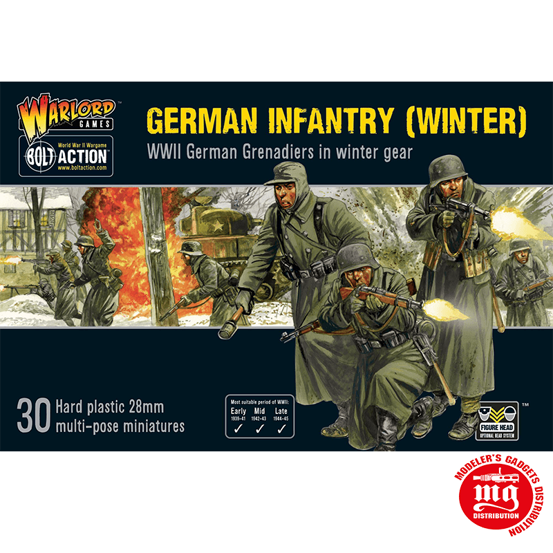 GERMAN INFANTRY WINTER BOLT ACTION WARLORD GAMES 402012027