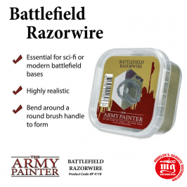 BATTLEFIELD RAZORWIRE THE ARMY PAINTER BF4118
