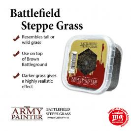 BATTLEFIELD STEPPE GRASS WARLORD GAMES BF4115