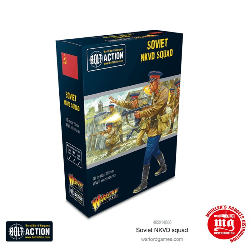 SOVIET NKVD SQUAD BOLT ACTION WARLOR GAMES 402214006