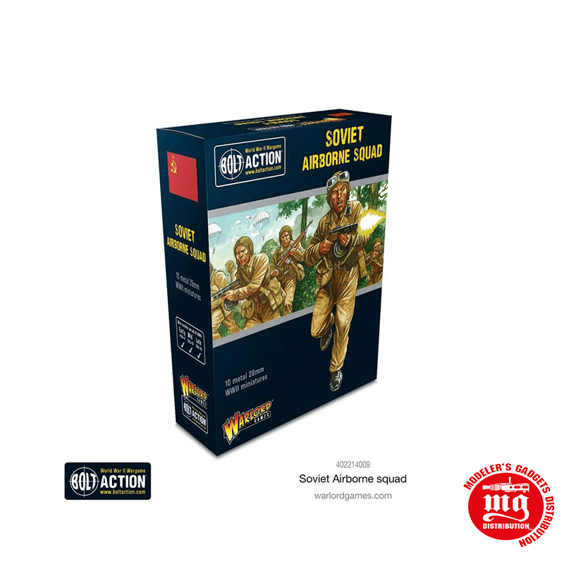SOVIET AIRBORNE SQUAD WARLORD GAMES 402214009