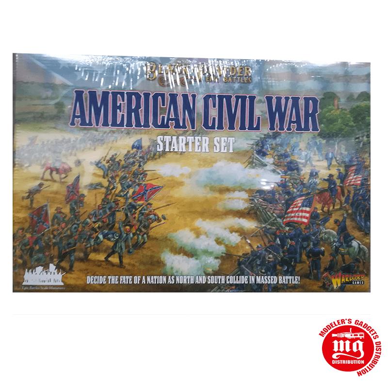 BLACK POWER EPIC BATTLES AMERICAN CIVIL WAR STARTER SET WARLORD GAMES 311514001