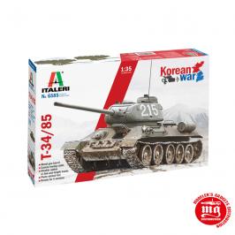 T34/85 KOREAN WAR ITALERI 6585